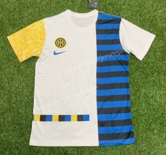 Special Version 2021-2022 Inter Milan Blue&White Thailand Soccer Jersey AAA-407