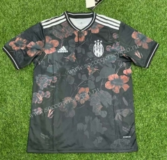 Classic Version  2021-2022 Juventus Black Thailand Soccer Jersey AAA-407