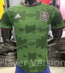 Player Version 2021-2022 Mexico Green Thailand Soccer Training Jersey AAA-KS