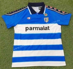 Retro Edition 99-00 Parma Calcio 2nd Away Blue&White Thailand Soccer Jersey AAA-503