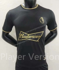 Player Version 2021-2022 Premier League Hall of Fame Black Thailand Soccer Jersey AAA