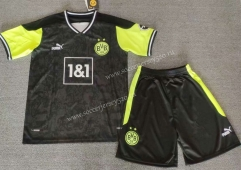 2021-2022 Special Version Borussia Dortmund Black Soccer Uniform