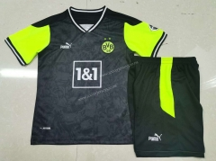 2021-2022 Special Version Borussia Dortmund Black Kids/Youth Soccer Uniform