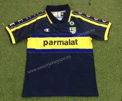 Retro Edition 99-00 Parma Calcio Away Royal Blue Thailand Soccer Jersey AAA-503