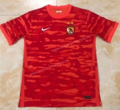 2021-2022 Guangzhou Evergrande Home Red Thailand Soccer Jersey AAA-407