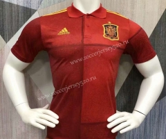 2021-2022 Spain Red Thailand Polo Shirt-403