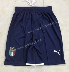 2021-2022 Italy Away Royal Blue Thailand Soccer Shorts