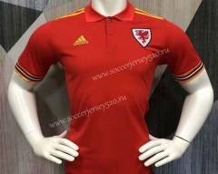 2021-2022 Wales Red Thailand Polo Shirt-403
