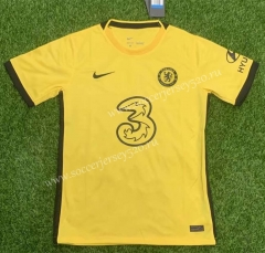 2021-2022 Chelsea Away Yellow Thailand Soccer Jersey AAA-407