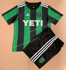 2021-2022 Austin FC Black&Green Soccer Uniform-AY