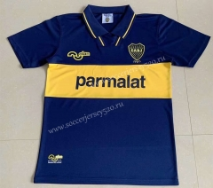 Retro Version 1994 Boca Juniors Home Blue Thailand Soccer Jersey AAA-AY
