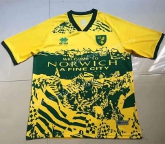 2021-2022 Norwich City Yellow Thailand Soccer Jersey AAA-407
