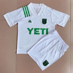 2021-2022 Austin FC Away White Soccer Uniform-AY