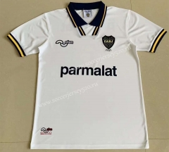 Retro Version 1994 Boca Juniors Away White Thailand Soccer Jersey AAA-AY